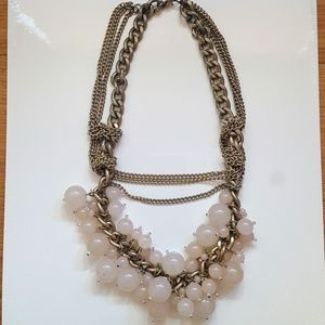Jewelry - Vintage Gold Link | Rope Big Statement Necklace